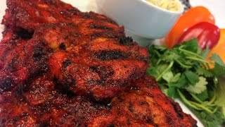Healthy Grilled Tandoori Chicken!