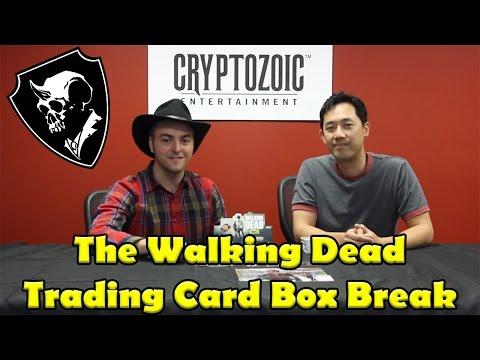 The Walking Dead Season 4 Part 1 Trading Card Box Break