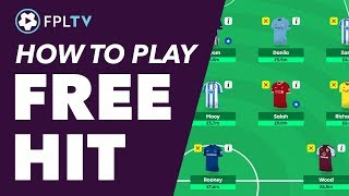 HOW TO USE THE FREE HIT CHIP | FANTASY PREMIER LEAGUE | FPL TUTORIAL