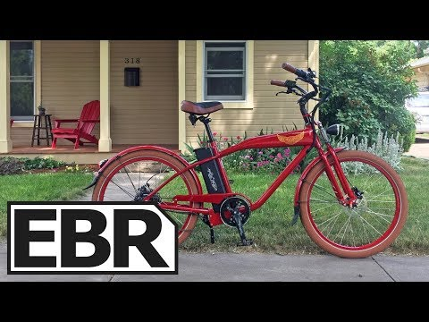 Ariel Rider W-Class Video Review - $1.5k Beautiful Cruiser Electric Bike, 28 MPH, Throttle