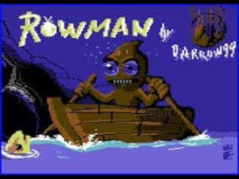 BITeLog 0086: Rowman (COMMODORE 64) LONGPLAY