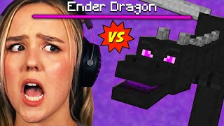 Fighting the ENDER DRAGON :)