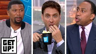 Stephen A. and Jalen debate about Le'Veon Bell as Greeny gets his popcorn ready | Get Up! | ESPN