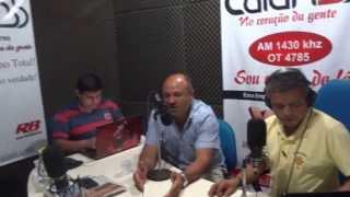 Rádio Caiari entrevista presidente do SINTTRAR