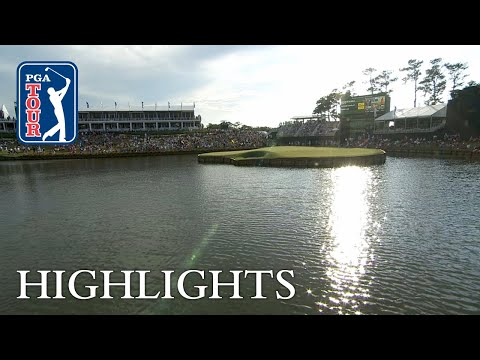 TPC Sawgrass No. 17 highlights from Round 4 of THE PLAYERS