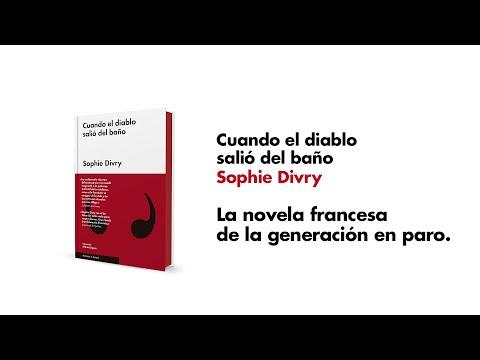 Sophie Divry, autora de CUANDO EL DIABLO SALIO DEL BAÑO