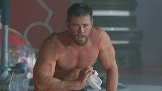 Chris Hemsworth - Best Training for the Best films!!!