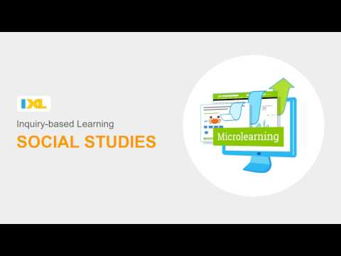 IXL Social Studies and Inquiry-based Learning