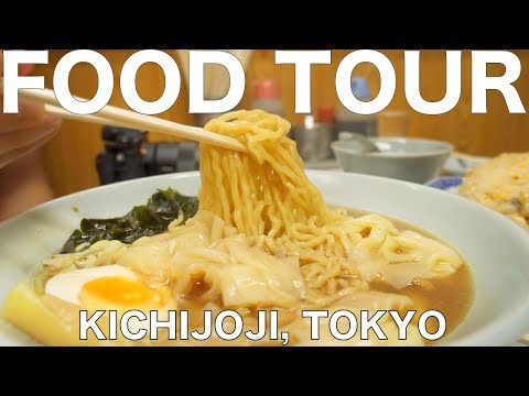 Food Tour of Harmonica Alley in Kichijoji