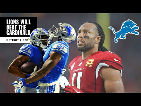 Reasons Lions SHOULD BEAT The Cardinals! Lions Vs Cardinals Preview: Detroit Lions Talk