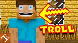 10 Funny Trolling Moments Caught In Minecraft