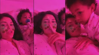 Kylie Jenner Gets SHUSHED By Daughter Stormi