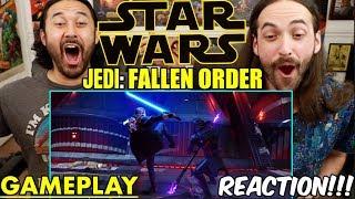 STAR WARS JEDI: FALLEN ORDER   GAMEPLAY TRAILER (Demo) - REACTION!!!