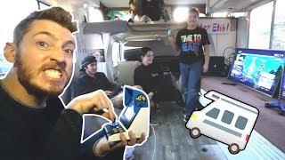 RV POP UP ARCADE SHOP!