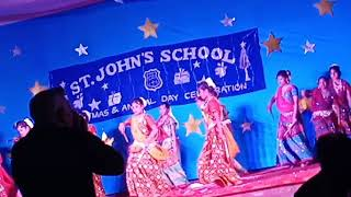 St johns schhol senior students beautiful dance