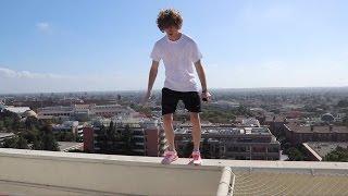 Sneaking Onto Rooftops In LA!