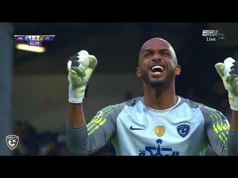 هدف #الهلال الثاني على الاتحاد عن طريق جيلمين ريفاس - كأس السوبر السعودي 2018