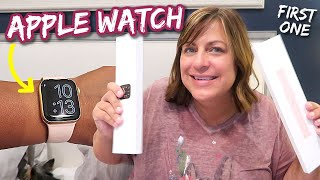 Apple Watch Series 6 Unboxing! My First Ever Apple Watch!