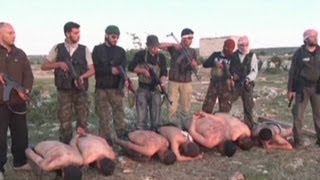 Does execution video prove Syrian rebels to be extremists?