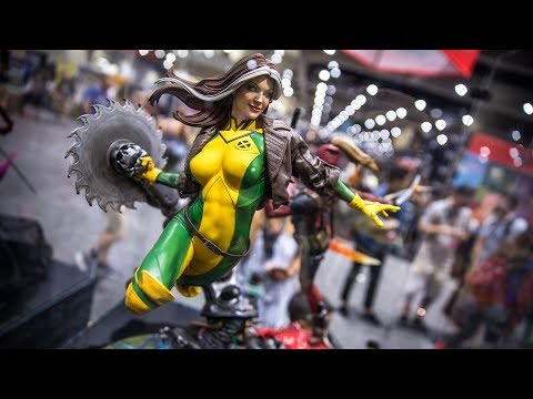 Sideshow Collectibles Booth Tour at Comic-Con 2018!