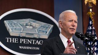 Joe Biden orders air strikes in Syria