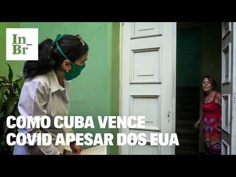 Cuba vence covid apesar dos EUA