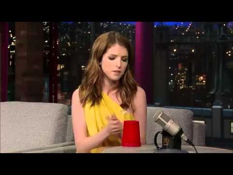 the cup song you 39 re gonna miss me by anna kendrick on david letterman youtube. Black Bedroom Furniture Sets. Home Design Ideas