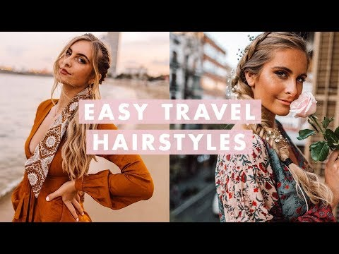 3 Insta-Worthy Travel Hairstyles