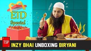 TSP's Eid Special | Inzy Bhai Unboxing 'Biryani'