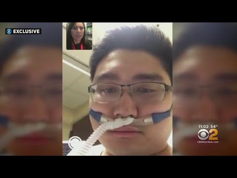 First N.J. Coronavirus Patient Speaks To CBS2