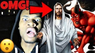 HUNTING FOR JESUS AND THE DEVIL *WE FOUND THEM* OMG!!!!!