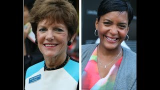 Keisha Lance Bottoms & Mary Norwood In Studio! Their Policies & Run-Off Mayoral Election : V-103