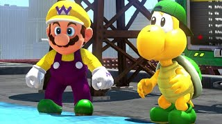 Super Mario Odyssey Walkthrough Part 34 - Metro Kingdom Completed (All Moon Rock Moons)
