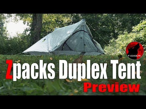 The $600 Zpacks Duplex Tent - Preview