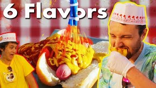 Voice Activated Hot Dog Blaster