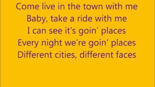 Goin Places - Wiz Khalifa Ft. Mac Miller Lyrics