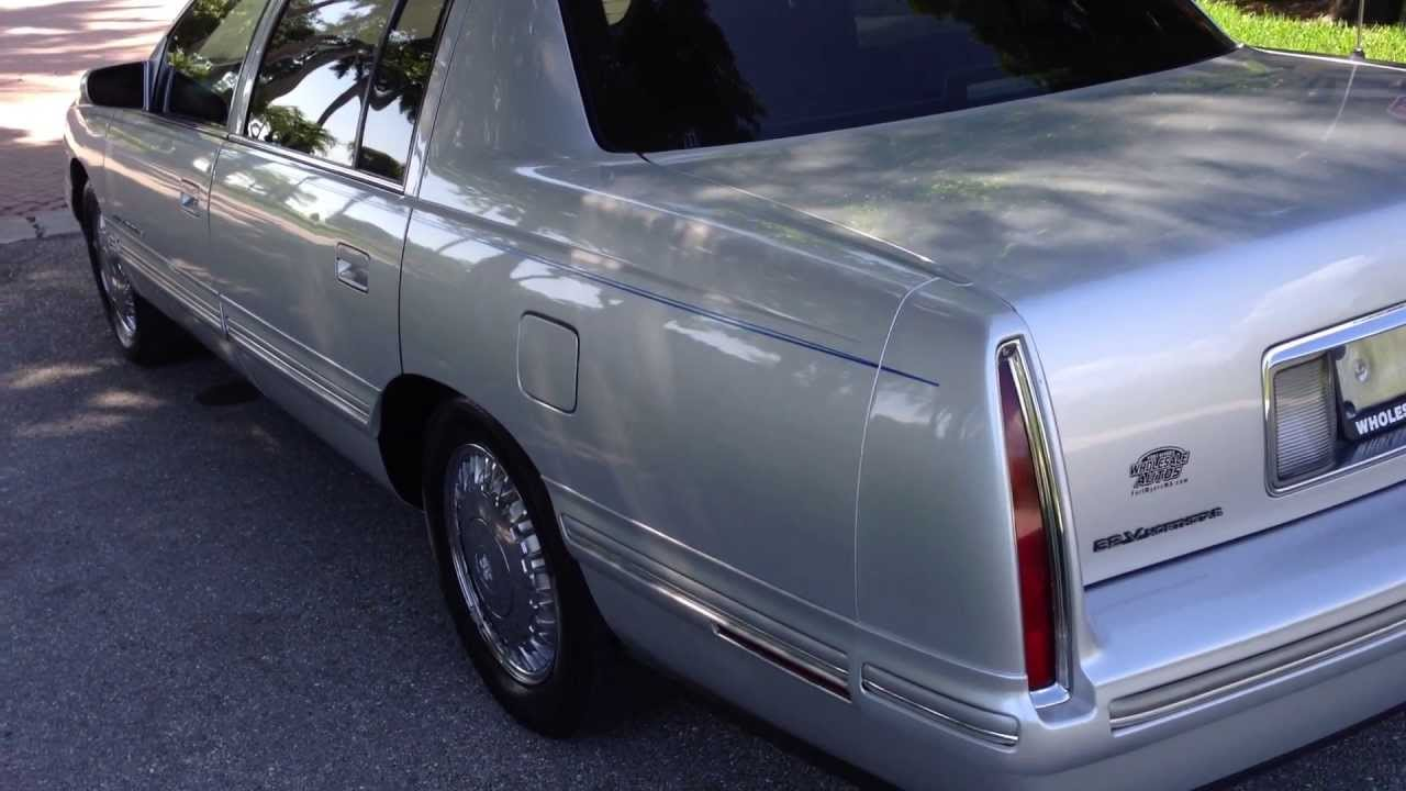 1999 Cadillac Deville Concours View Our Current