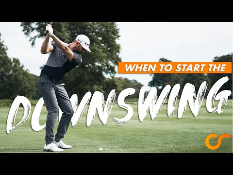 WHEN TO START YOUR DOWNSWING - THE TRANSITION