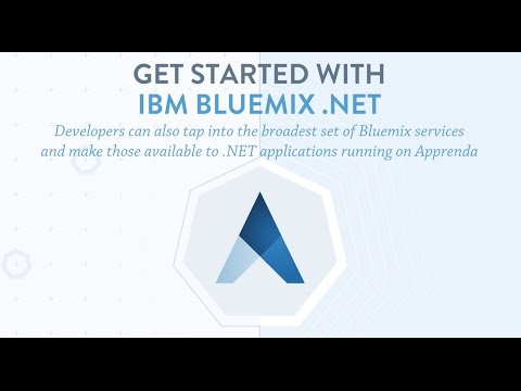Get started with Bluemix .NET