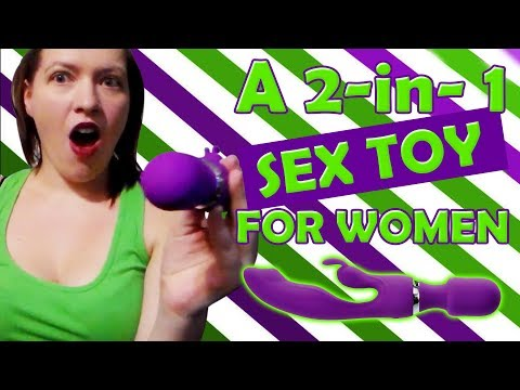 Personal Magic Wand Massager + Rabbit Vibrator | A 2-in-1 Sex Toy For Women