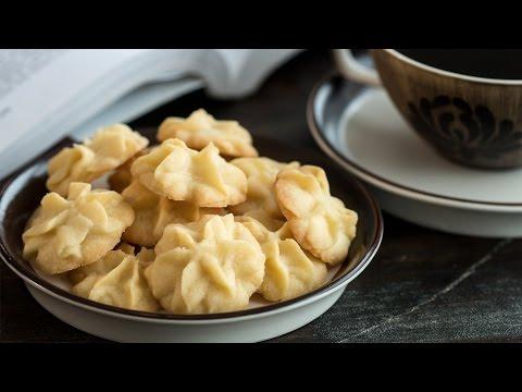 Butter Cookies (Pastisetas) Recipe