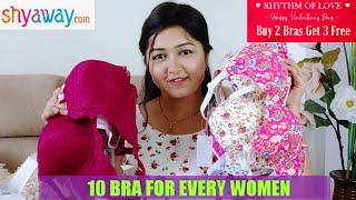 Huge Shyaway Lingerie Haul || Buy 2 Get 3 Bra Free || Shyaway  Sale 2021