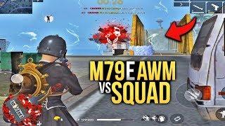 JOGUEI SOLO vs. SQUAD DE M79 & AWM !! FREE FIRE