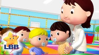 Ten Little Babies | Little Baby Bum Junior | Cartoons and Kids Songs | LBB TV | Songs for Kids