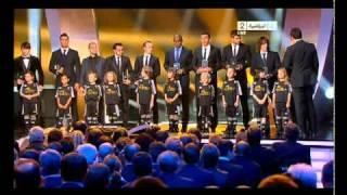 فريق الفيفا 2010 مجموعة من افضل اللاعبين في مراكزهم