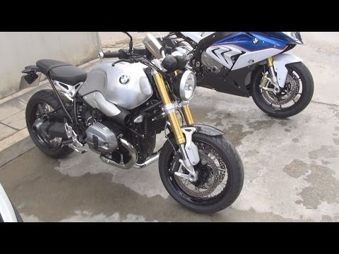 BMW Motorrad R nineT Standard (2016) Exterior and Interior in 3D