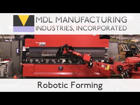 Robotic Forming on the Amada Astro