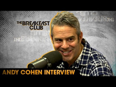 Andy Cohen on Creating Real Housewives Series, New Book and Oprah