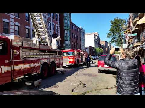 Boston Fire respond to Little Italy