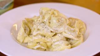 Tortellini in a Creamy Parmesan Sauce